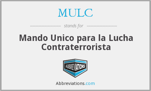 What does MULC stand for?