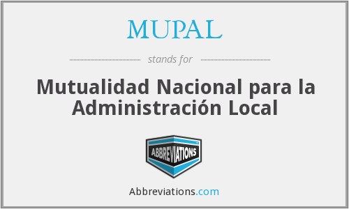 What does MUPAL stand for?