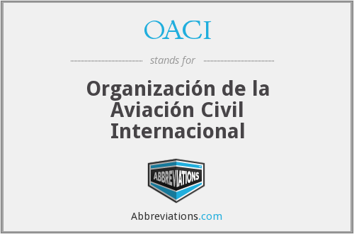 What does OACI stand for?