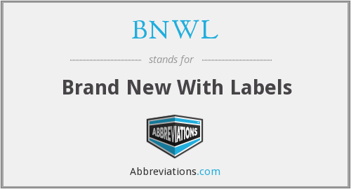 What does BNWL stand for?