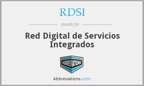 What does RDSI stand for?