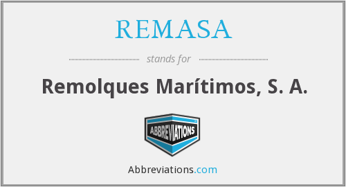What does REMASA stand for?