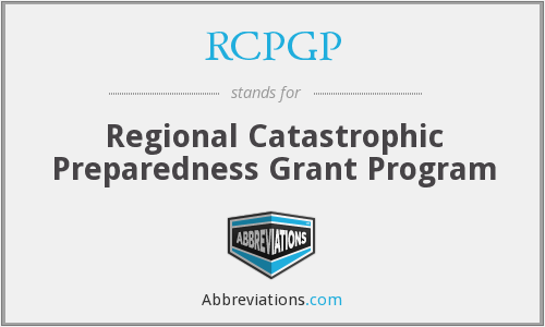 What does RCPGP stand for?