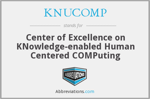 What does KNUCOMP stand for?