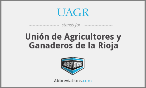 What does UAGR stand for?