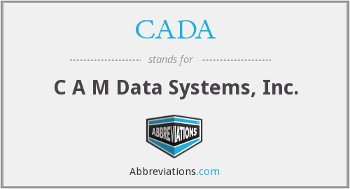 What does CADA stand for?