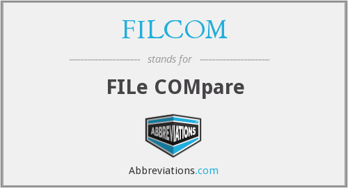 What does FILCOM stand for?