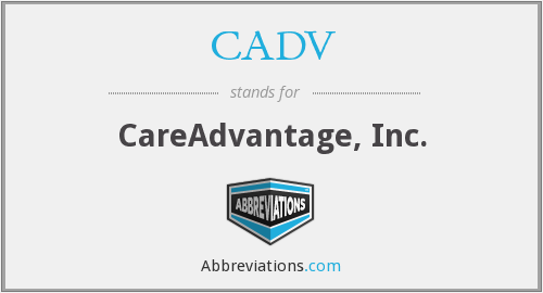 What does CADV stand for?