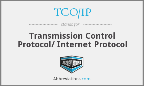 What does TCO/IP stand for?