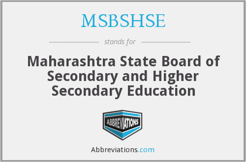 What does MSBSHSE stand for?
