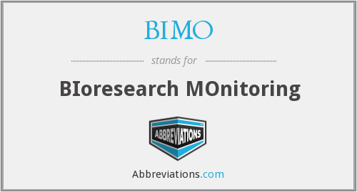 What does BIMO stand for?