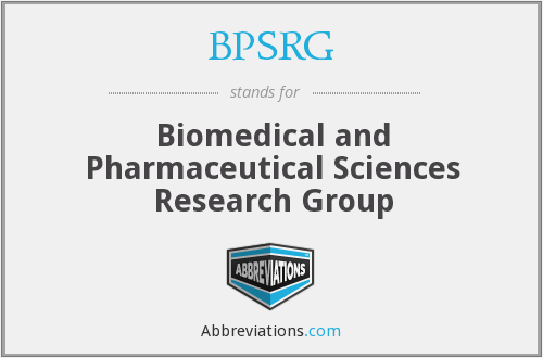 What does BPSRG stand for?