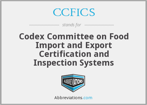 What does CCFICS stand for?