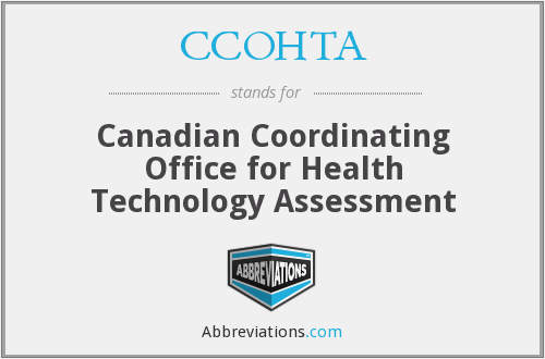 What does CCOHTA stand for?