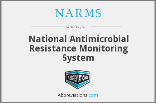 What does NARMS stand for?