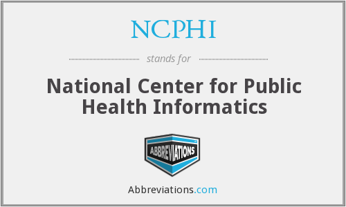 What does NCPHI stand for?