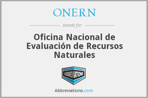 What does ONERN stand for?