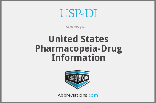 What does USP-DI stand for?