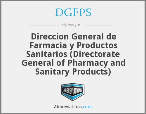 What does DGFPS stand for?