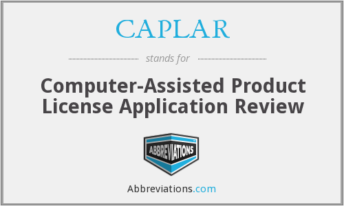What does CAPLAR stand for?
