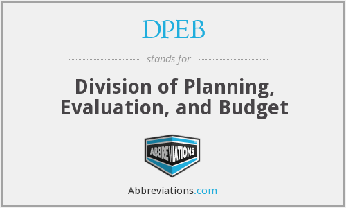 What does DPEB stand for?