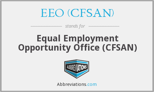 What does EEO (CFSAN) stand for?