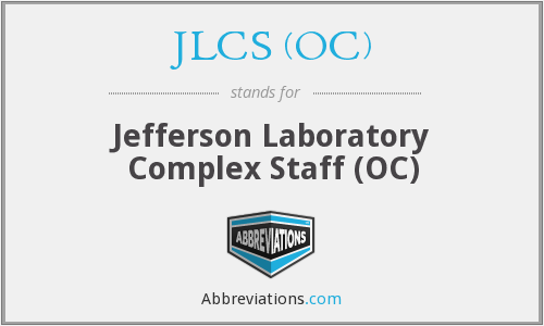 What does JLCS (OC) stand for?
