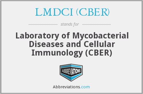 What does LMDCI (CBER) stand for?