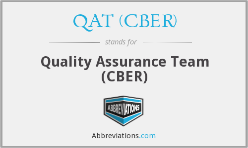 What does QAT (CBER) stand for?