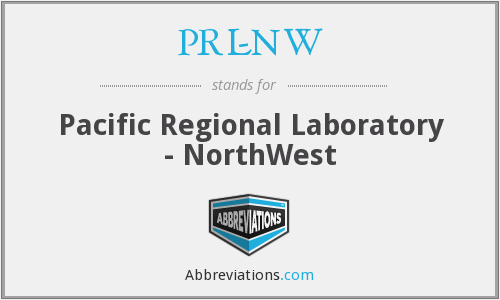 What does PRL-NW stand for?