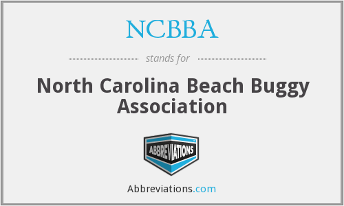 What does NCBBA stand for?