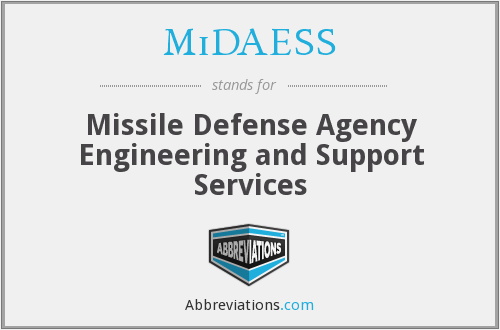 What does MIDAESS stand for?