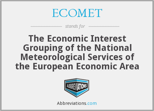 What does ECOMET stand for?