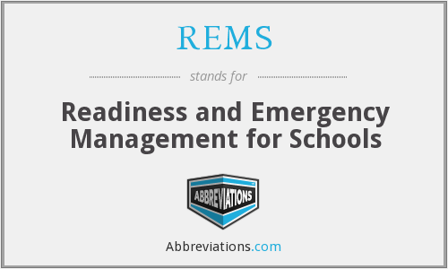What does REMS stand for?