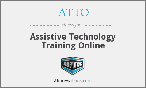 What does ATTO stand for?