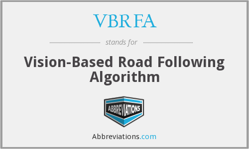 What does VBRFA stand for?