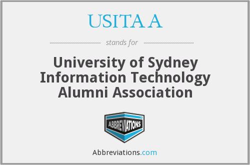 What does USITAA stand for?
