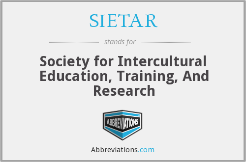 What does SIETAR stand for?