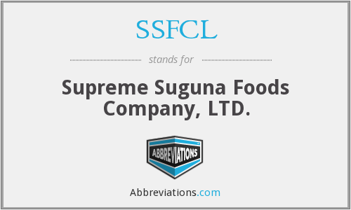 What does SSFCL stand for?