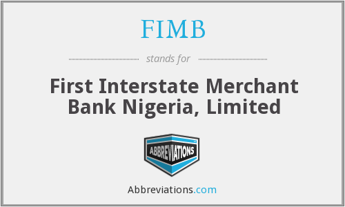 What does FIMB stand for?