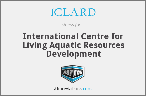 What does ICLARD stand for?