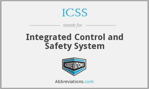 What does ICSS stand for?