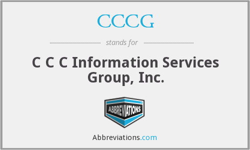 What does CCCG stand for?