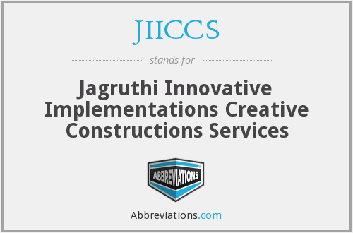 What does JIICCS stand for?