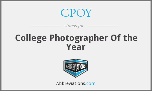 What does CPOY stand for?