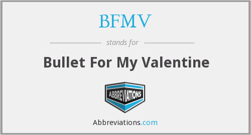 What does BFMV stand for?