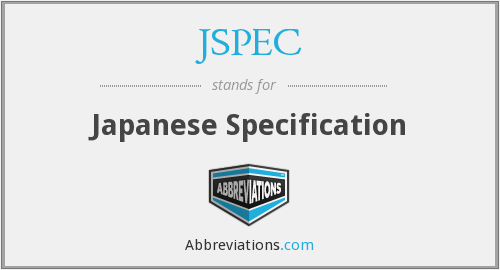 What does JSPEC stand for?