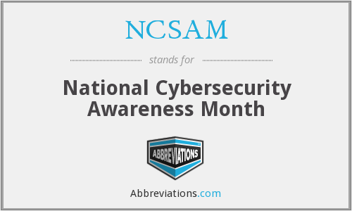 What does NCSAM stand for?