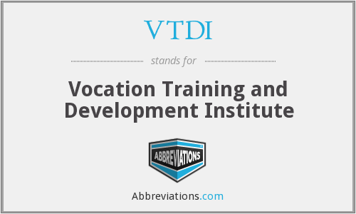 What does VTDI stand for?