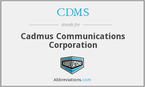 What does CDMS stand for?
